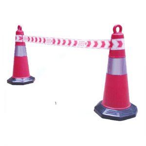 Cọc giao thông tròn lớn phản quang (gắn được băng quảng trường)